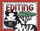 Writing Process Posters or Clip Chart Jungle Safari Theme