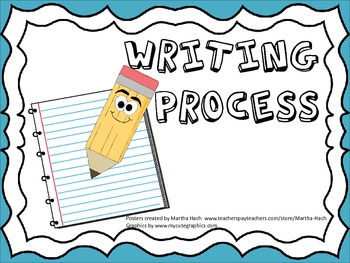 Writing Process Posters/Anchor Charts