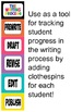 Writing Process Posters/Clip Chart