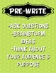 Writing Process Printable Posters & Parent Newsletter