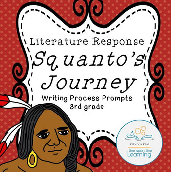 Thanksgiving Writing Process Prompts for Squanto's Journey