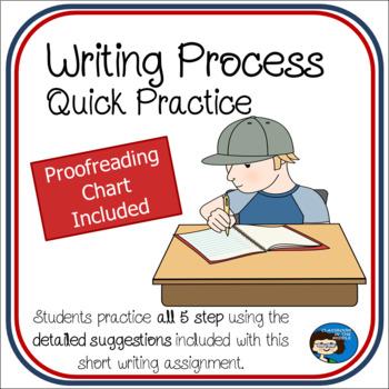 Writing Process - Quick Practice