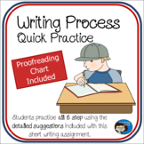 Writing Process - Quick Practice