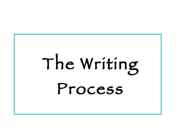 Writing Process Reference Chart