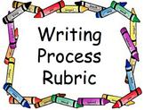 Writing Process Rubric