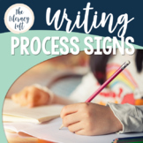 Writing Process Signs