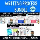 Writing Process {Special Education} Bundle