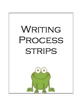 Writing Process Strips