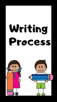 Writing Process -Student Self Tracker Display