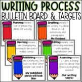 Writing Process Targets & Bulletin Board