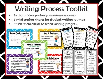 5 Step Writing Process Toolkit