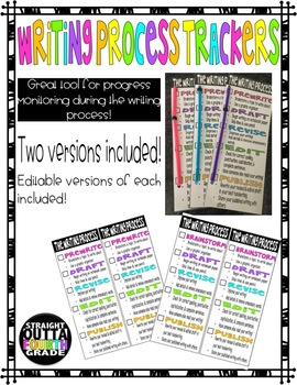 Writing Process Trackers