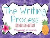 Writing Process - Tropical Theme!