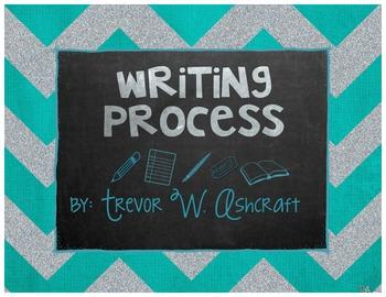 Writing Process - Turquoise Chevron