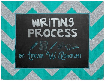 Writing Process - Turquoise Chevron
