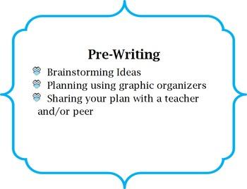 Writing Process - Upper Grades