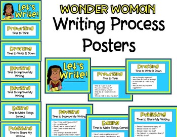 Writing Process - Wonder Woman
