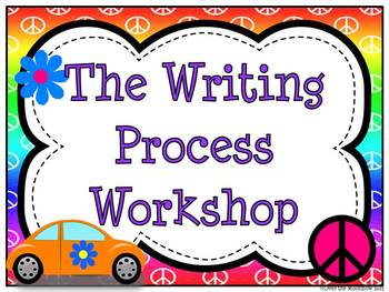 Writing Process Workshop Displays & Clip Chart – Peace Buggy
