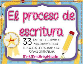 Writing Process in Spanish / El proceso de escritura