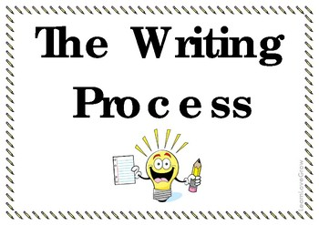 Writing Process posters (Freebie!)