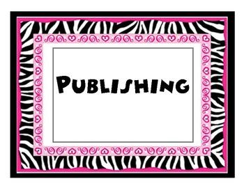 Writing Process zebra