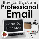 Writing Professional Email - Student Guide - Examples - Pr