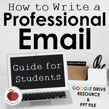 Email Etiquette - Professional Email - Student Guide - Examples - Life Skills