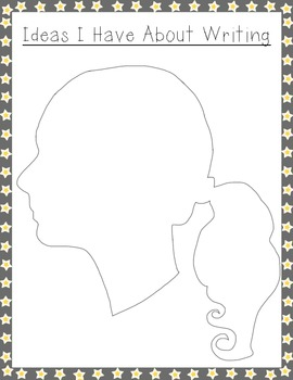 Writing Profiles--Draw pictures or Paste Images of Writing Topics