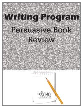 Writing Program - Persuasive Book Review