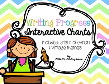 Writing Progress Interactive Chart