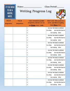 Writing Progress Log