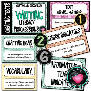 Writing Progressions Complete Bundle - Australian Curriculum