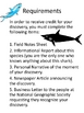 Writing Project: A New Shark Species has been Discovered!  18 pgs.