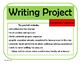 Writing Project – Any Subject (Canadian Version)