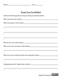Writing Project: Create Your Own Holiday - Learning Support
