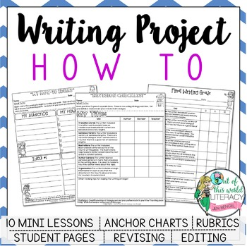 Writing Project: 'How-To' Informational Writing Lessons