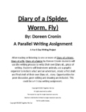 Writing Project Using the Diary Of... Books - 4 or 5 Day Writing Project
