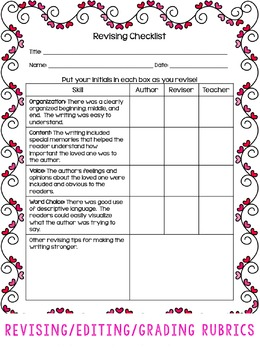 Writing Project: Write About Someone You Love: 11 Detailed Lessons with CCSS