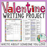 Valentine's Day Writing: Write About Someone You Love!