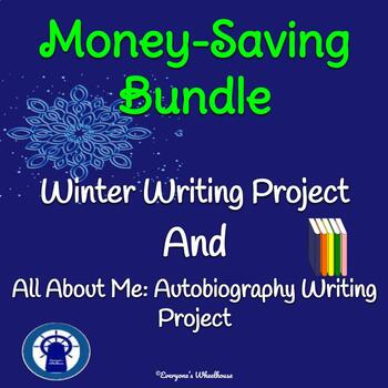 Writing Projects Bundle: Autobiography and Winter Storybook