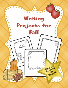 Fall Writing Projects (Editable)
