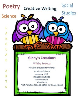 Writing projects for multiple academic areas