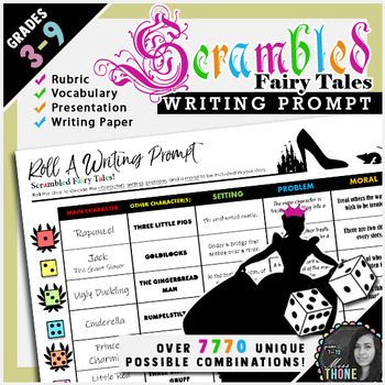 Fairy Tale Roll-A Writing Prompt
