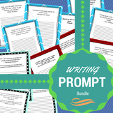 Writing Prompts Bundle - Worksheet and Smartboard Formats