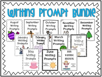 Writing Prompt Bundle (A Year's Worth of Daily Writing Prompts!)