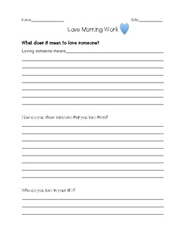 Writing Prompt Bundle (Great for Morning Work or Centers)