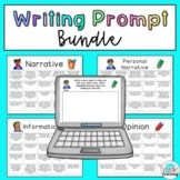 Writing Prompt Bundle: Narrative, Personal Narrative, Info