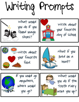 Writing Prompt Cards!