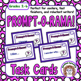 Writing Prompt Cards: 54 Fun and Easy Prompts plus 10 Challenge Cards