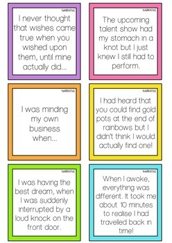 Writing Prompt Cards Bundle